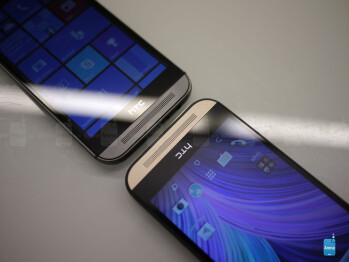 HTC One M8 for Windows vs HTC One M8 for Android: first look