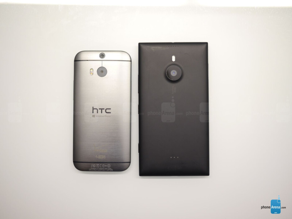 HTC One M8 for Windows vs Nokia Lumia 1520: first look
