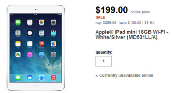 Buy the Apple iPad mini for just $199 at Target