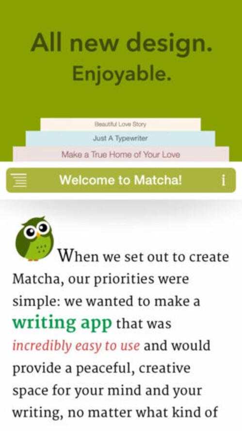 Matcha (iOS) - free