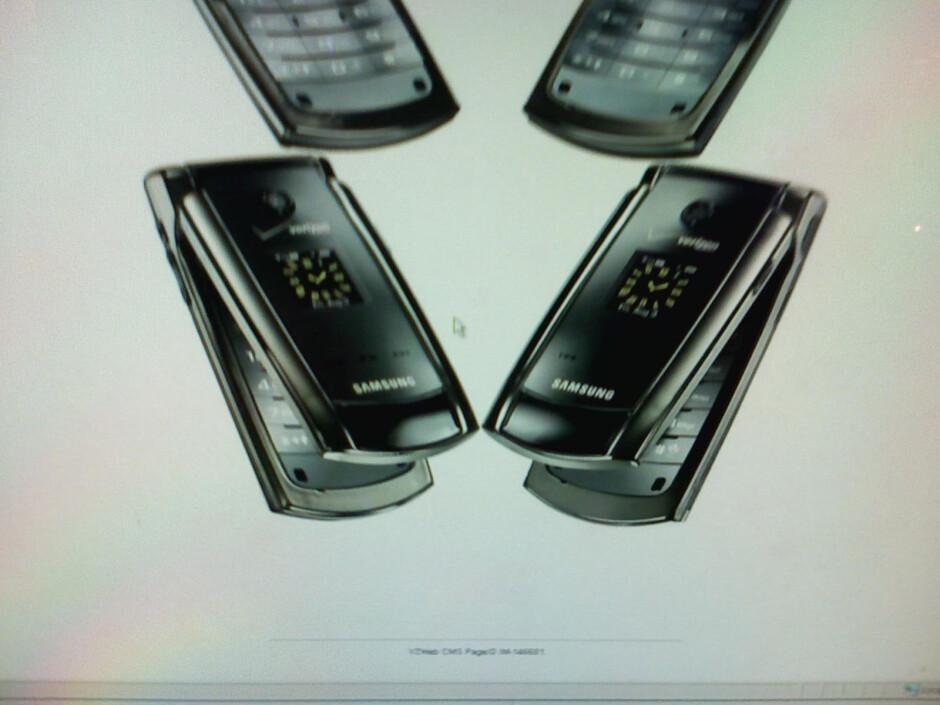 Samsung U700 - Verizon's Samsung U700 and U900
