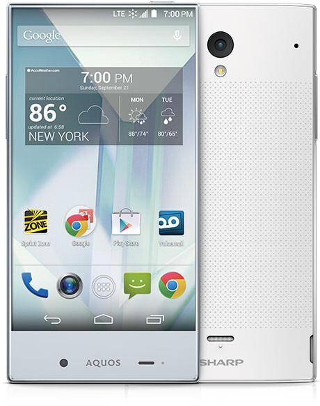Sprint Sharp Smartphone Sprint Lands a Sharp Aquos