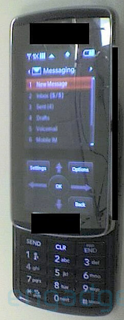 LG VX8800 - LG VX8800 and VX10000 for Verizon have touch-displays!