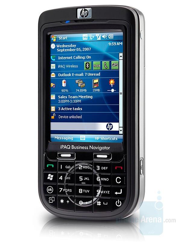 HP iPAQ 600 series - HP announces two new WM6 smartphones