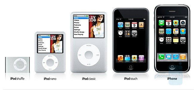 iPod line including the iPhone - Apple cuts iPhone's price with $200