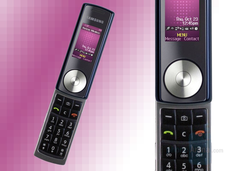 Samsung U470 is music-phone for Verizon