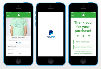 "PayPal announces ""One-Touch Mobile Payments"""
