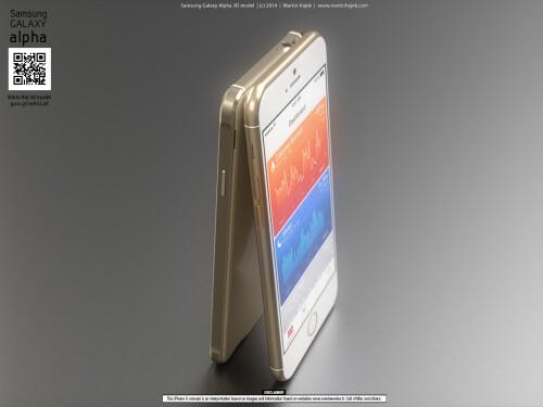 iPhone 6 vs Galaxy Alpha