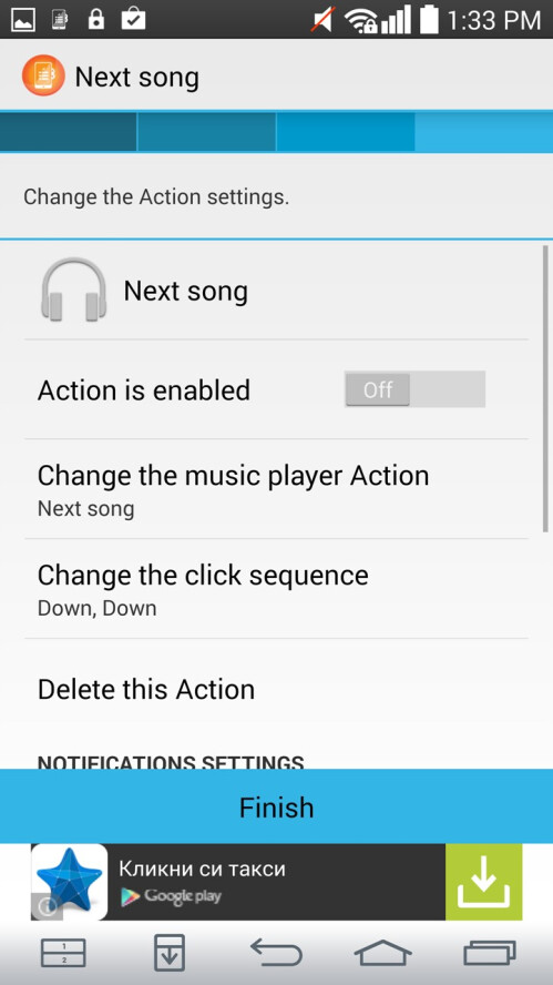 QuickClick lets you assign shortcuts to your phone's volume buttons at will