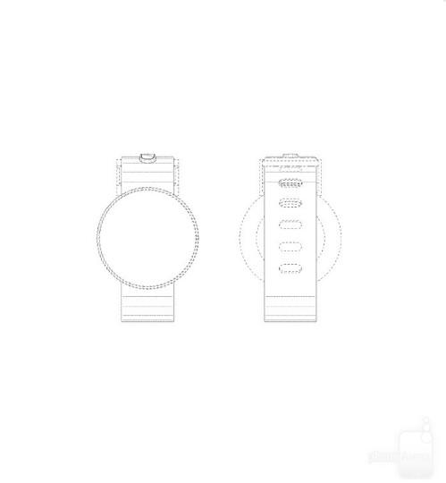 Moto 360-like Samsung smartwatch