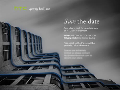 HTC Event invite