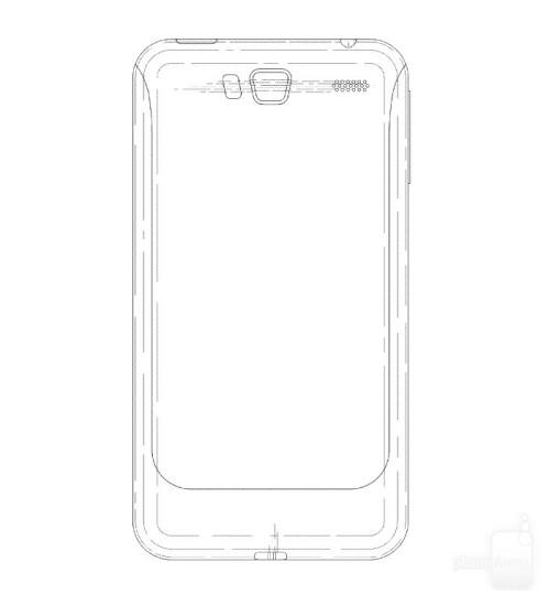Samsung ASUS PadFone-like design patent