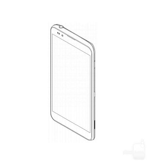 Samsung phone design patent