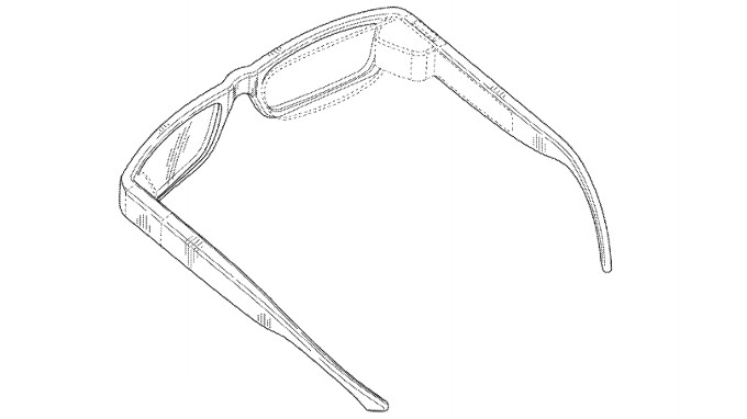 Google patents better aesthetic integration of Glass components