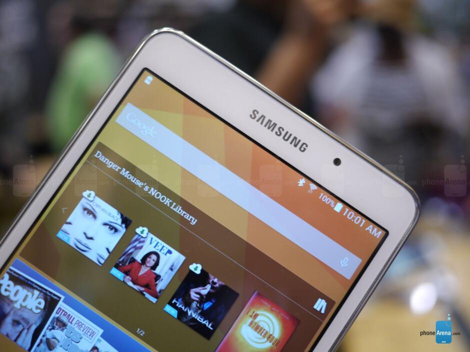 Samsung Galaxy Tab 4 Nook hands-on