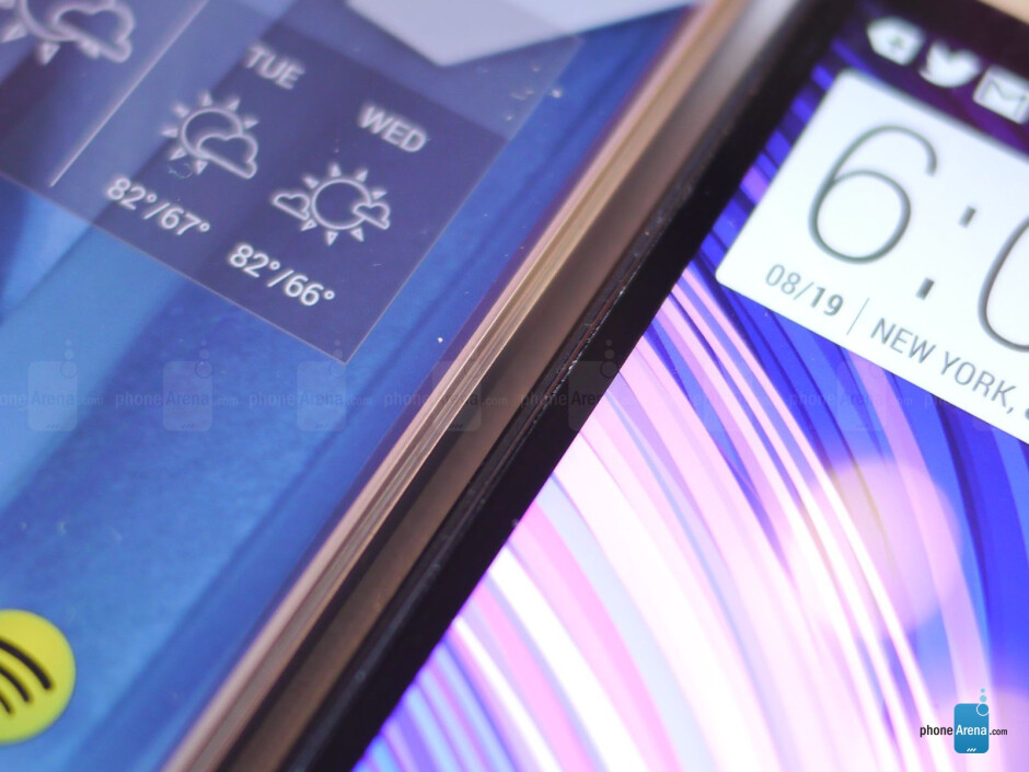 Sharp AQUOS Crystal versus HTC One M8: first look