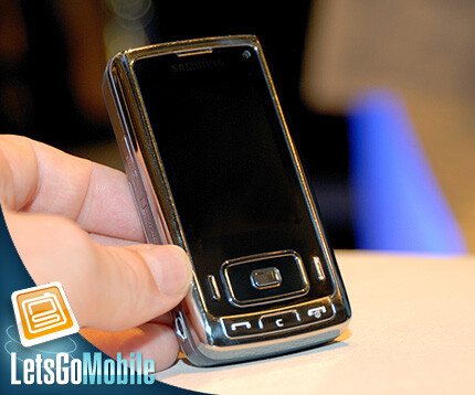 Samsung SGH-G800 - Live images of the Samsung G800 5MP phone