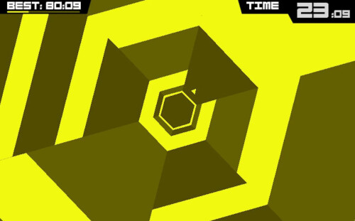 Super Hexagon trailer & screenshots