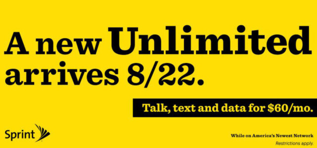 Sprint's new $60 unlimited plan starts tomorrow - Sprint's new unlimited talk, text and data plan starts Friday, priced at $60