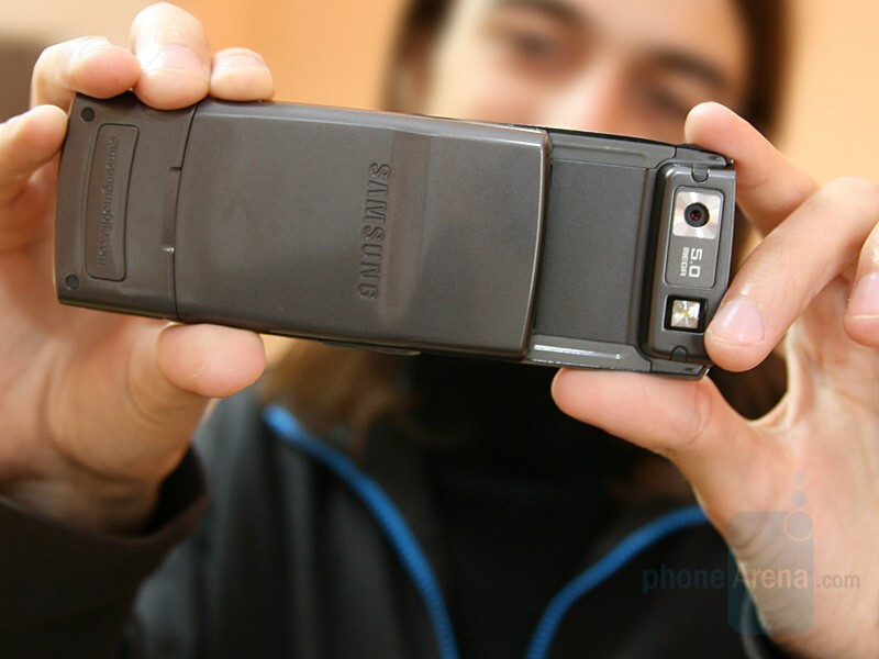 Samsung G600 - Hands-on with the 5MP Samsung G600