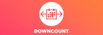 Material Design app Downcount for Android counts the days to or from important events in your life