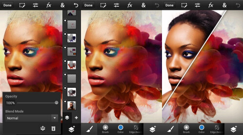 Advanced photo editing: Photoshop Touch for phone - $4.99