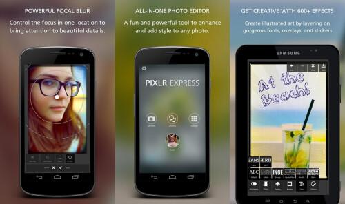 Options galore: Pixlr Express - Free