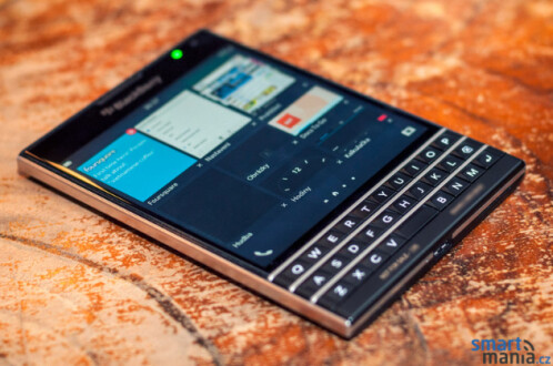 New pictures of the BlackBerry Passport