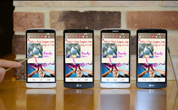 The LG G3 Stylus is now official - LG G3 Stylus is now official: qHD display, quad-core 1.3GHz processor, 3G connectivity