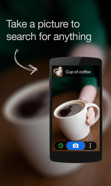 CamFind lets you find shopping items, restaurant menus, and other information by snapping photos of them