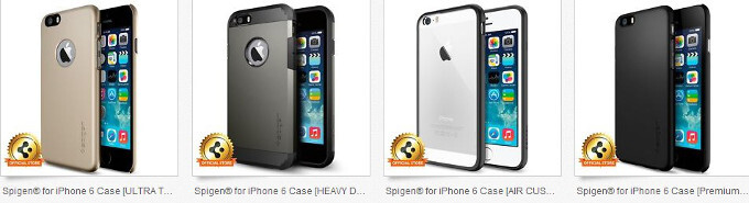 Spigen pulls the trigger on iPhone 6 case sales, pegs the general shape and form