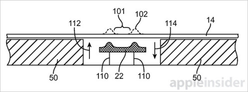 Apple wants to stick physical keys under the iPhone's screen... some day