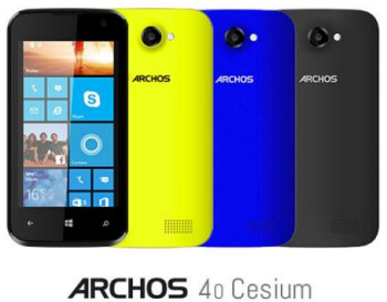 Archos intros its first Windows Phone 8.1 handset, plus new Android devices