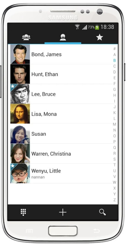 ExDialer - Dialer & Contacts screenshots