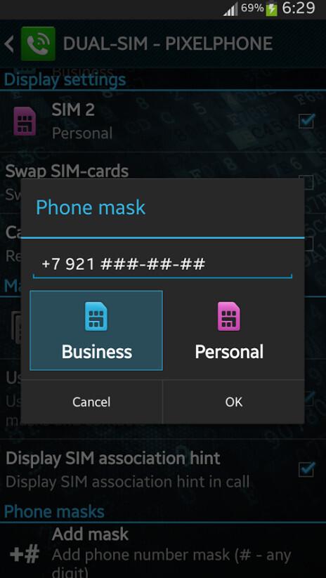 PixelPhone PRO screenshots