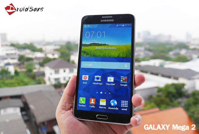 Leaked image shows gigantic 7-inch Samsung Galaxy Mega 2 | AndroidGuys