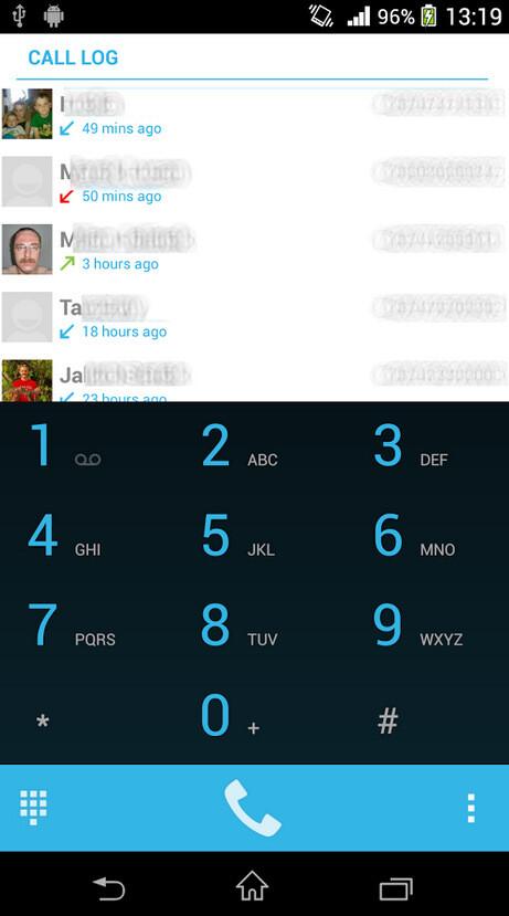KitKat Dialer screenshots