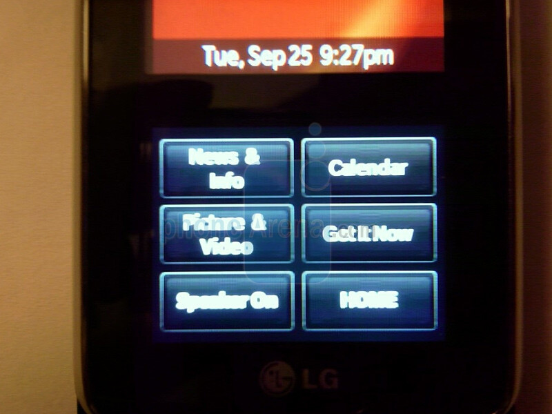 LG VX8800 - New details on LG VX8800 for Verizon