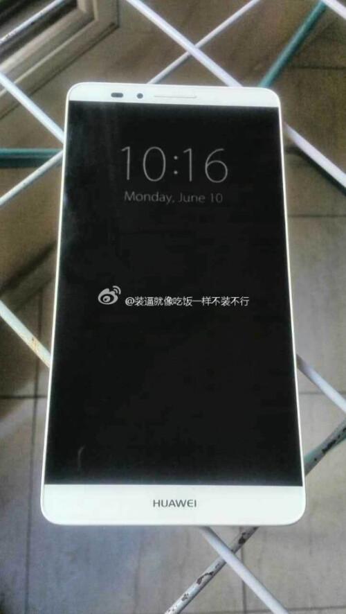 Huawei Ascend Mate 7 leaks out in its full metallic glory, boasting thin bezels