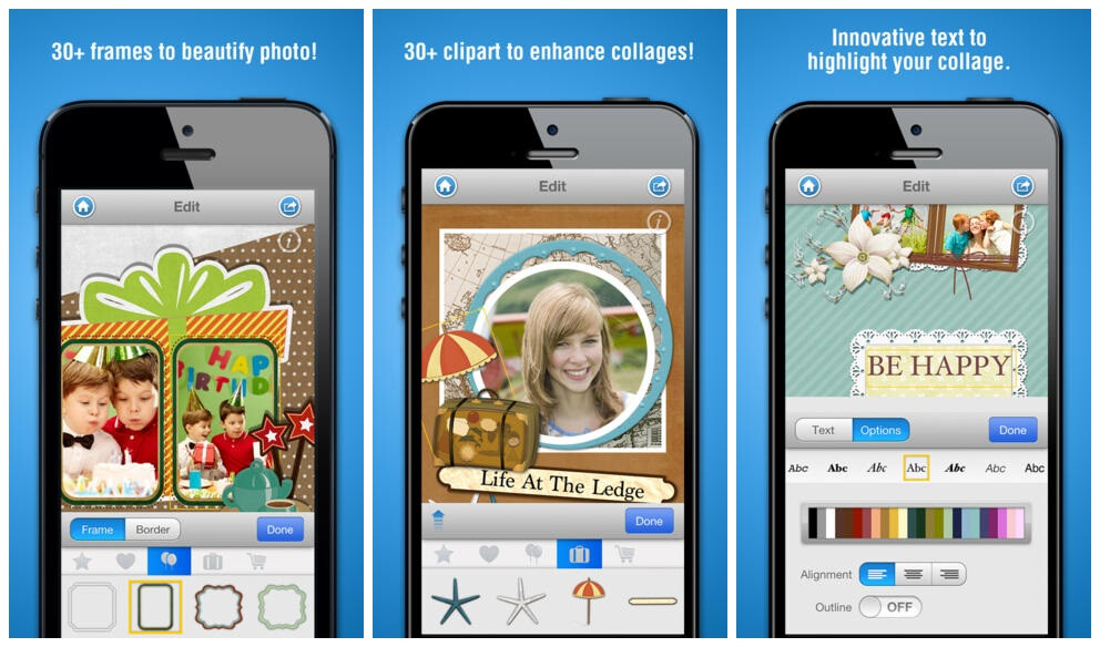 15 sweet photo collage making apps for Android, iOS, and
