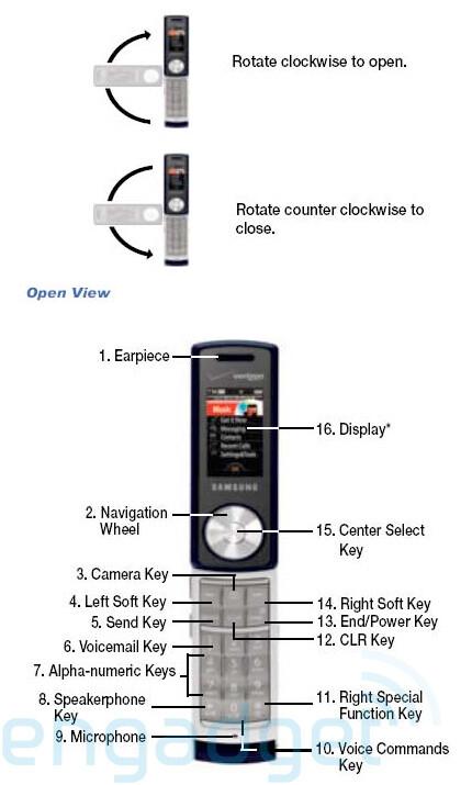 Samsung SCH-U470 Juke - Samsung U470 for Verizon is the Juke