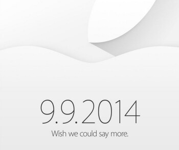 Apple sends out invitations to the September 9th event at which the Apple iPhone 6 is expected to be unveiled