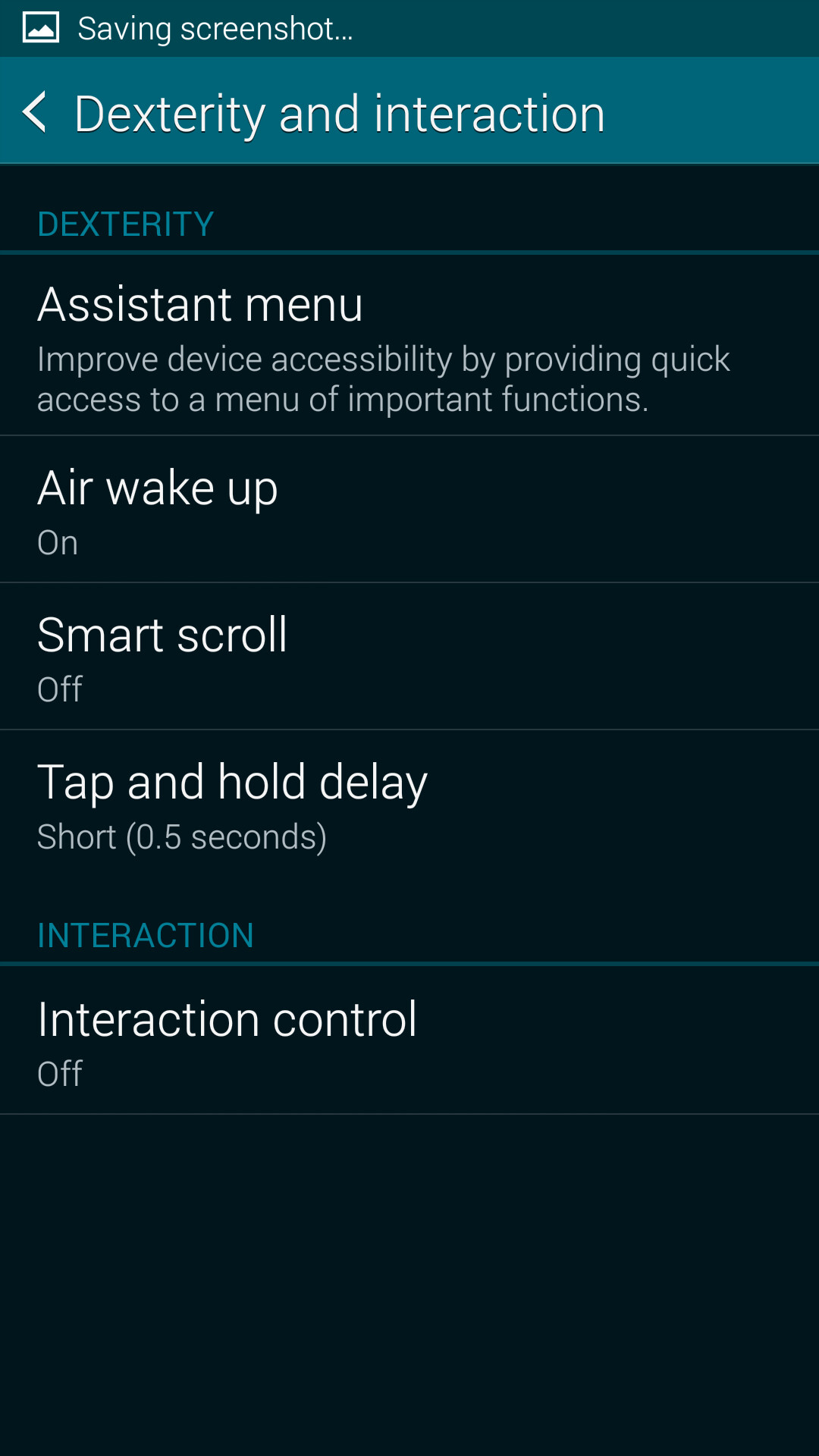 how to turn off galaxy s5 without screen
