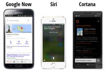 Google Now vs Siri vs Cortana: showdown