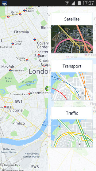 HERE Maps will exclusively grace Samsung Galaxy smartphones