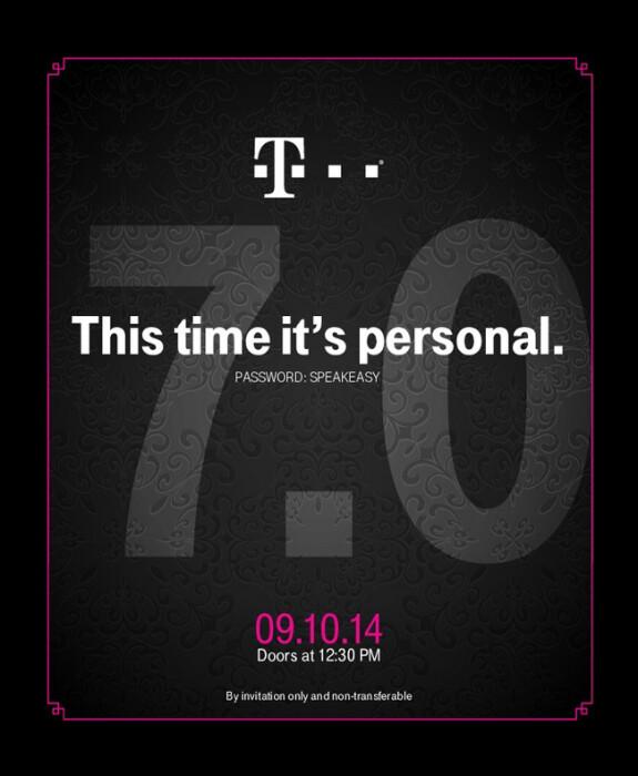 T-Mobile's Uncarrier 7.0 announcement happening September 10th