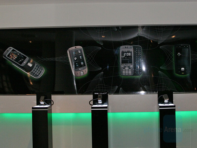 HTC Touch Slide, Touch (Artic), S730 and P6500 - HTC announces new smartphones