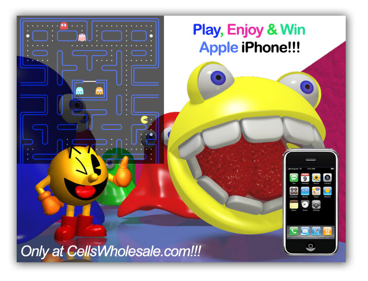 Play Pacman, win iPhone