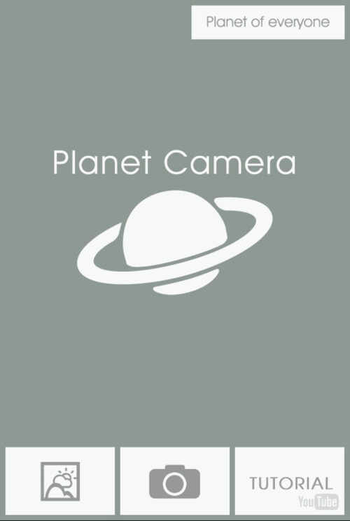 Planet Camera lets you twist photos into a planetary shape