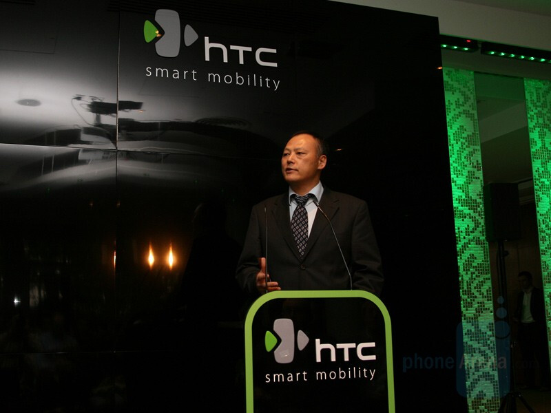 Peter Chou, CEO of HTC - HTC Product Launch - October 1